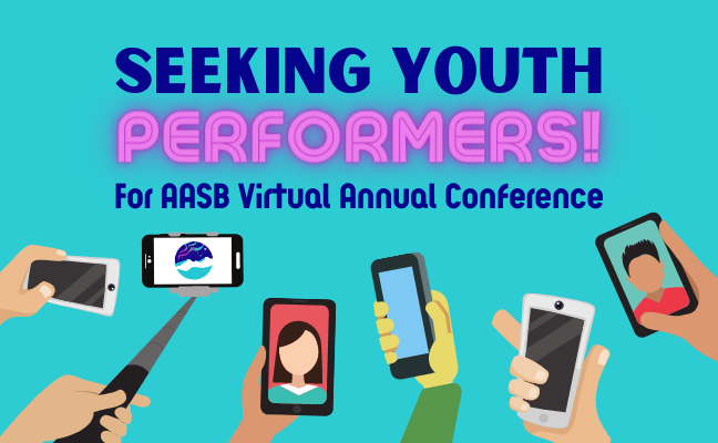 Seeking Youth Performers for Annual Conference!