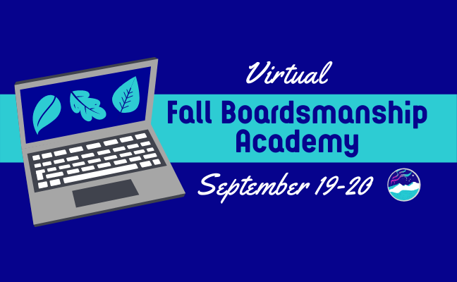 2020 Fall Boardsmanship Academy graphic