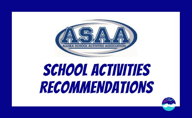ASAA School Activities Recommendations webinar graphic