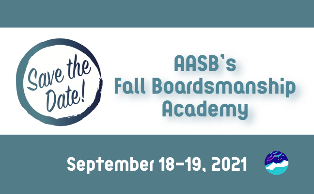 SAVE THE DATE: 2021 Fall Boardsmanship Academy