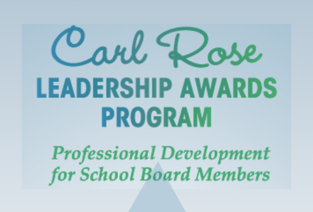Carl Rose Leadership Awards Program logo.