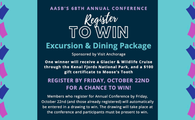 Register for AASB's Annual Conference to Win!