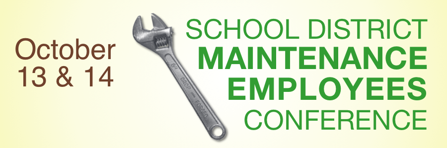 Maintenance Workshop materials banner