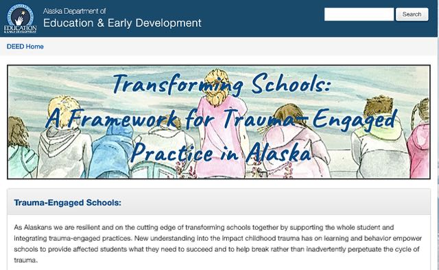DEED and AASB Release a Trauma-Engaged Toolkit for Alaska Schools During the Pandemic and Beyond
